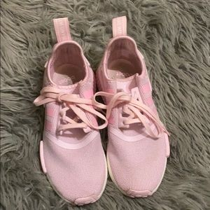 adidas pink nmd size 4 like new used only once